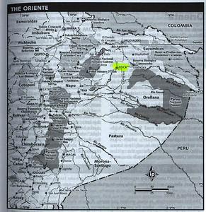 El Oriente map