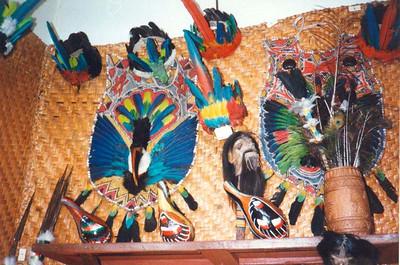 Souvenir shop in Puyo (1996)