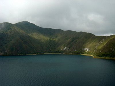 Dave & I went to Lake Cuicocha for a great hike (not very far from Otavalo) in 2004