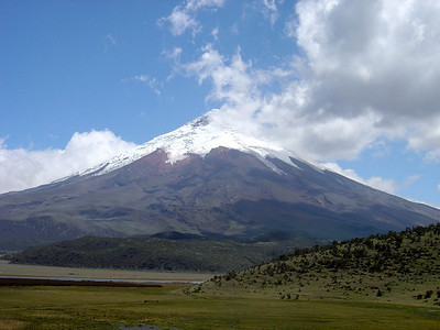 Cotopaxi 5,897 M or(19,347 FT)