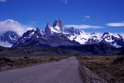 Hiking in Patagonia, Argentina (2005)
