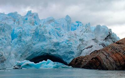 Glacier Perito Moreno. More info on El Calafate: http://www.patagonia-argentina.com/i/andina/glaciares/calafate.htm