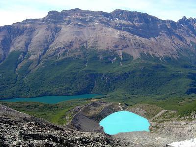 hike to Glacier Huemul