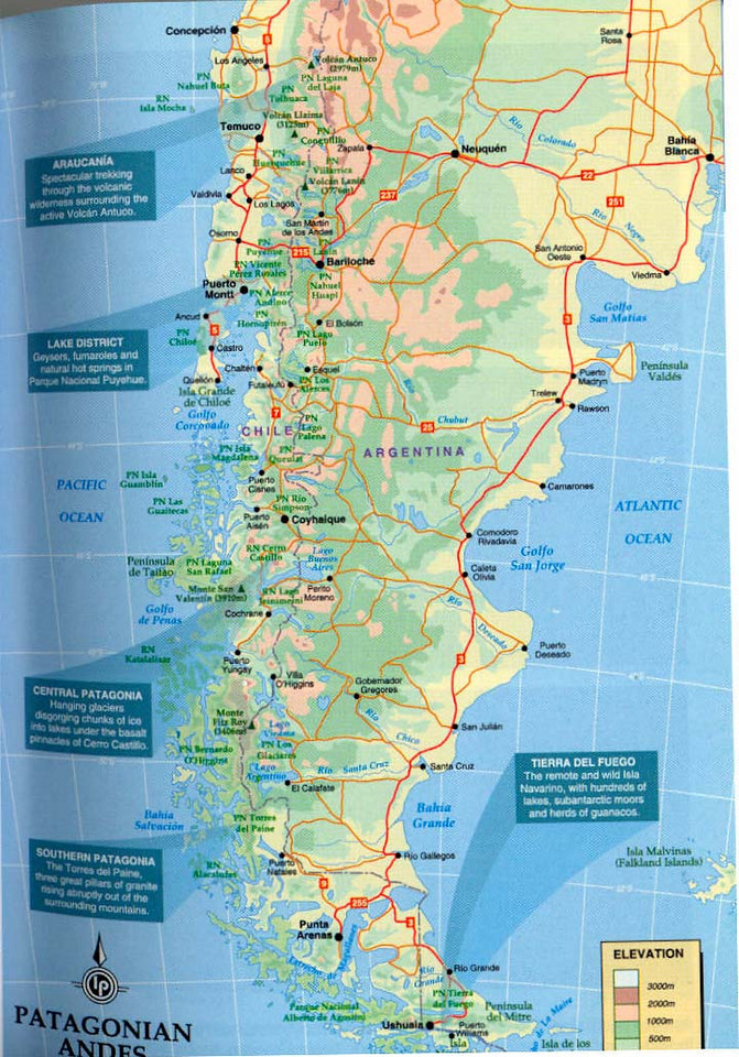 South America Map Lonely Planet Map Usa Map Images - Argentina map lonely planet