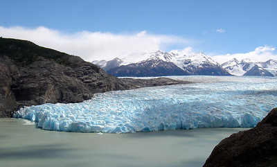 Hiking in Patagonia, Chile (2005)