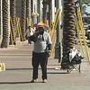 """This was a """"repent and be saved"""" preacher shouting on the corner outside the hotel.  He needed to be inside at the SDP conference!"""