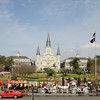 Jackson Square on a Sunday