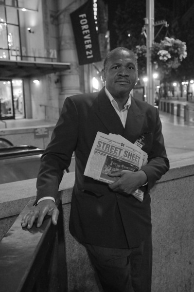 Stanley Michael Jackson, age 54 near Hallidie Plaza.  He had the gift of gab.