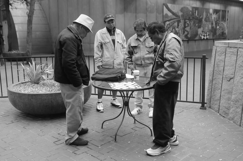 Philipino Checkers in Hallidie Plaza