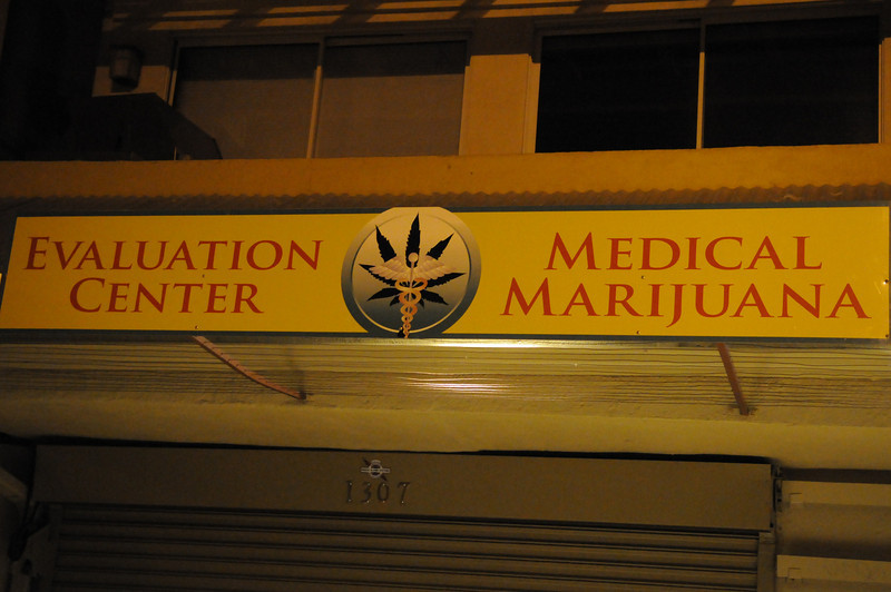 """At these """"evaluation centers"""" an on-site doctor can diagnose you and write a prescription"""