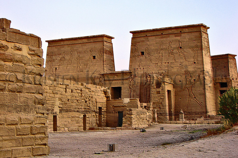 Temple of Isis_021 3D