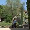 Girona - Park in the oldtown<br /> <br /> Girona - Park az óvárosban