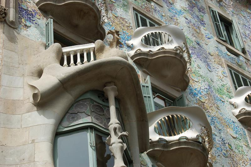 Barcelona - Casa Battló<br /> - <br />