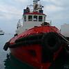 Ship with rubber fender<br /> <br /> Hajó jó kis gumifenderrel