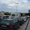 Cars are waiting for a ferry<br /> <br /> Autók várakoznak a kompra