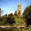 Look-out tower in the park<br /> <br /> Kilátó a park közepén