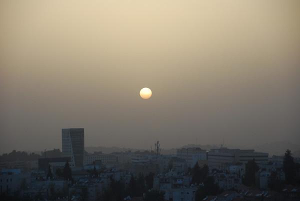Jerusalem Hotel View