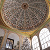 Ceiling of a Bedroom at the Topkapi Palace<br /> Istanbul, Turkey