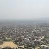 City of Kathamandu<br /> <br /> Kilátás a templomból a városra