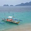 El Nido, Palawan<br /> We docked our boat at the beach.