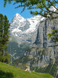 OK, one more shot of the Swill Alps in Murren, Switzerland