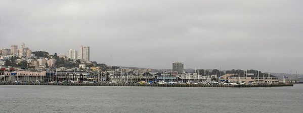San Francisco in the morning - miserable and cloudy city