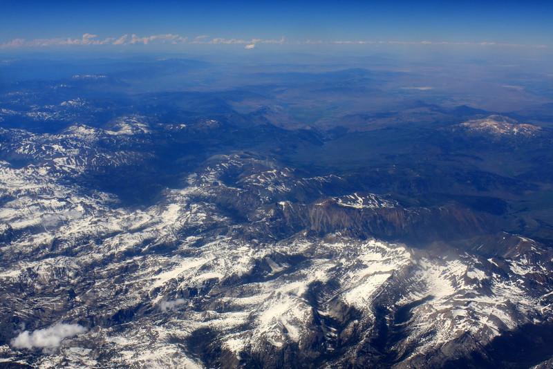 Flying Sierra Nevadas