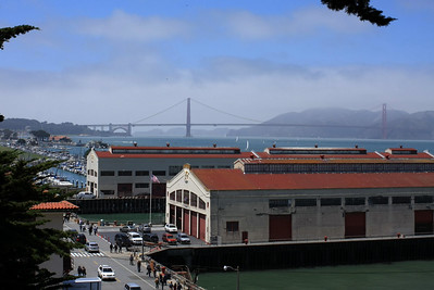 Ok. Now it's getting better. View from Fort Mason