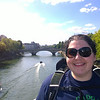 Resa on the Pont Marie