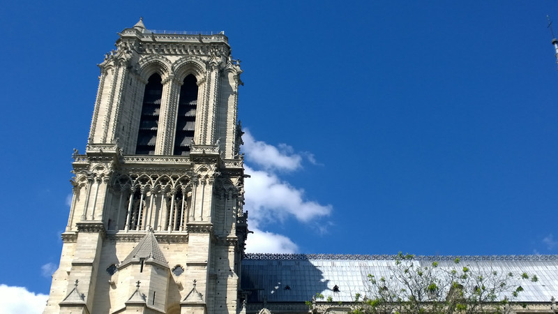 A Bell Tower of Notre Dame