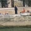 Sunbathing by the Seine