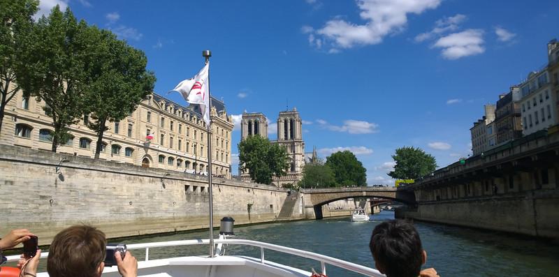 Le Petit Pont Bridge from the Seine