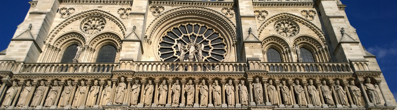Saints at the Front of Notre Dame
