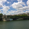 The Seine River under the Pont de Bir-Hakeim