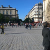Down the Promenade at Notre Dame