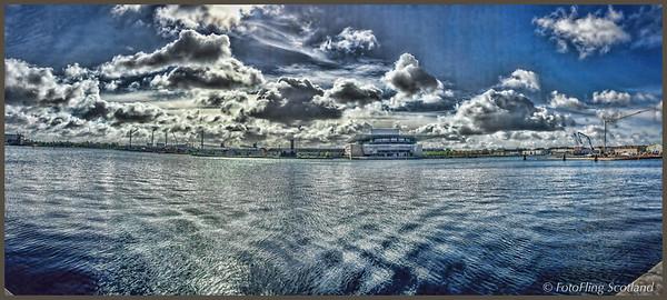 Copenhagen Waterfront and Opera House