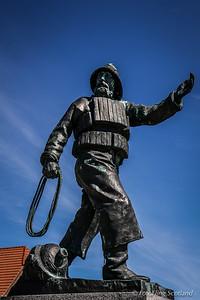 Statue Danish Fisherman - Skagen