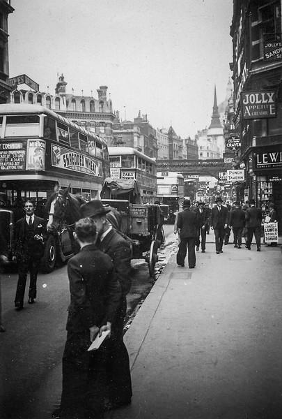 A London Street (Circa 1935)