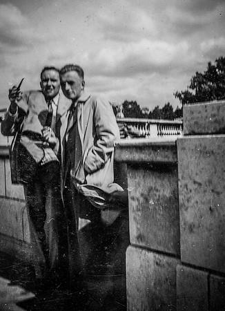 Two Gentlemen in 1930's London