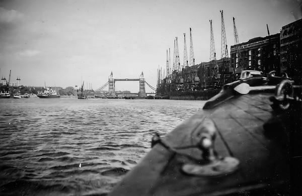 A boat trip down the Thames (Circa 1935)