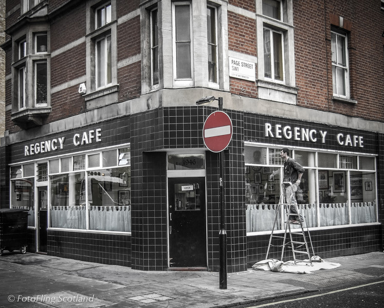 Regency Cafe Iconic cafe in Pimlico, London