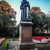 Victoria Statue in Queen's Gardens, Newcastle Under Lyme