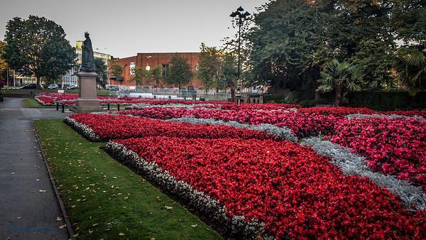 Queen's Gardens, Newcastle Under Lyme