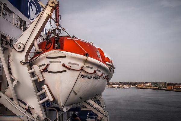 Princess Seaways sets sail for Amsterdam