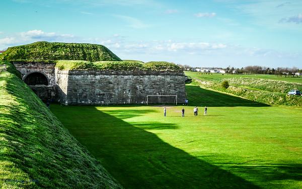 Walls Enclosing Berwick on Tweed