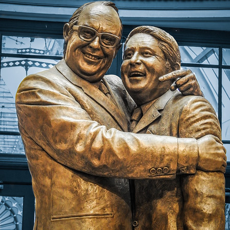 Morecambe & Wise 75th Anniversary Statue