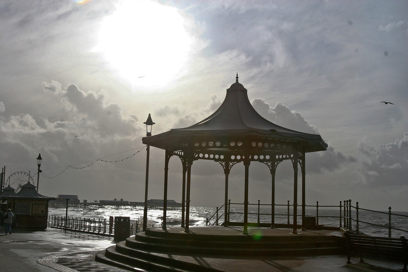 Bandstand on Blackpool Promenade