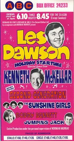 '60's ABC Theatre Handbill