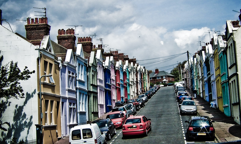 Painted Houses, Brighton