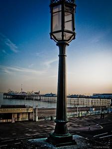 Brighton as dusk